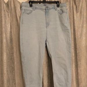 Forever 21 Stretchy Skinny Jeans